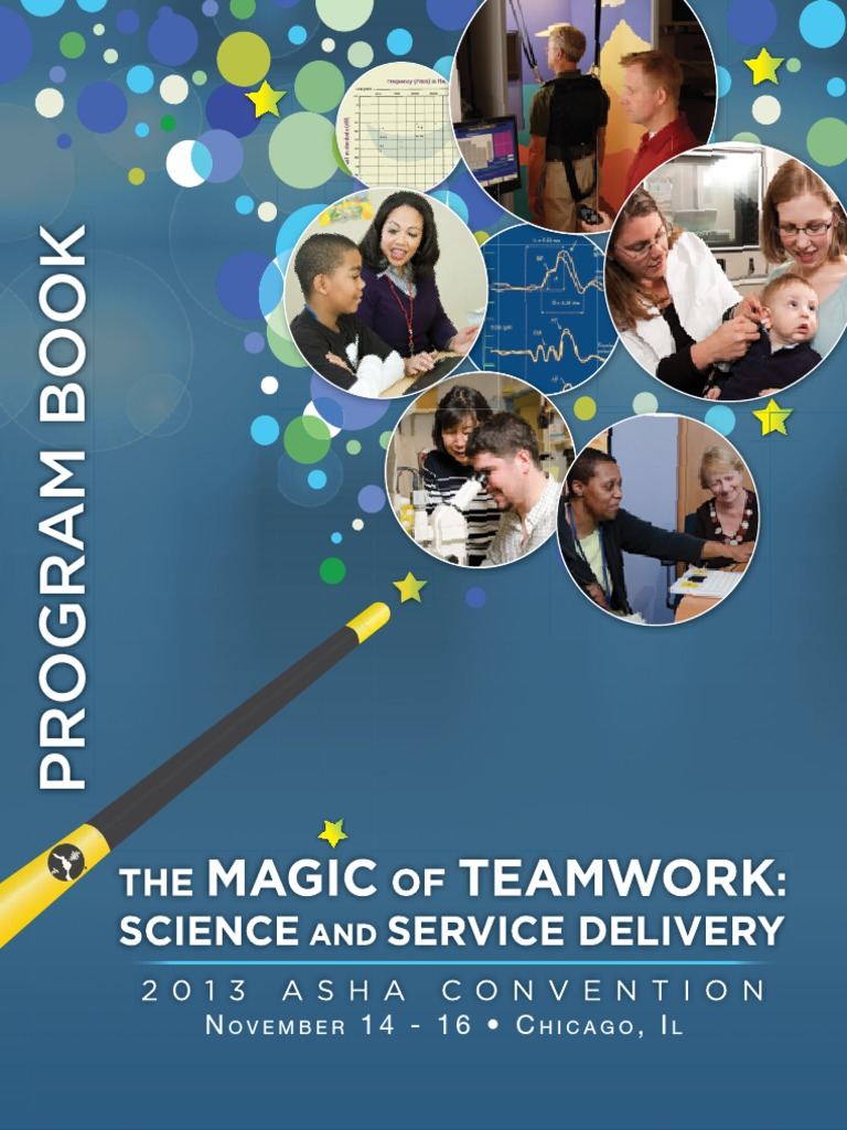 2013 ASHA Convention Program Book | Audiology | Ear