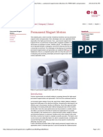 Permanent Magnet Motors - Technical details, application fields, challenges and support for permanent magnet motors (Brushless DC, PMSM, BLDC) and generators.pdf