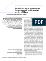 Communities of Practice at an Academic Library_ a New Approach to Mentoring at the University of