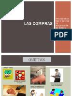 COMPRAS Y PROCEDIMIENTOS DE ADQUISICIÓN