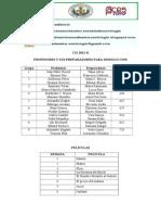 Preparadores Cis 2014 Actualizado