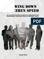 Slowing Down Shenzhen Speed