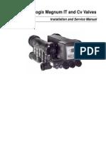 Manual Instlacion y Servicio Logix Magnum IT and Cv Valves