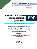 09 - ROMVEC HSE Management System Manual.doc