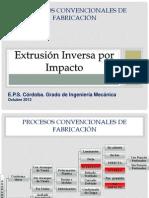 Procesos Conformación_EXTRUSIÓN