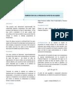 Informe_3. Presion de Vapor