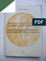 Moneda antică în vestul si nord-vestul Romaniei - Alexandru Săşianu