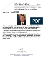 623 - Special re- election fund-raiser Dinner for Maine Governor Paul LePage.pdf