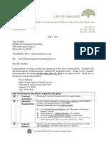 PRR 674 Doc 45 Baseline Transmittal 10-29-13