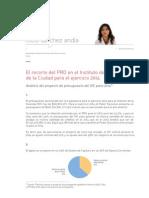 Informe Presupuesto Vivienda 2014