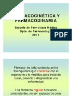 1 Farmacocintica y Farmacodinamia 1 Parte