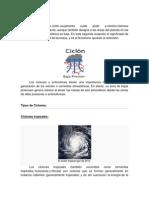 Ciclón y Anticiclon