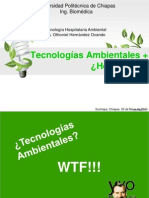 Tecnologia Ambiental y Hospitalaria