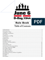 June 6 Rulebook