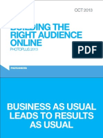 Building the Right Audience Online