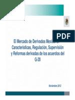 LuisLeyvaEl Mercado de Mercado de Derivados Mexico y Reformas Al OTC_LLM_ 12NOV2012 IIMV LA ANTIGUA GUAT