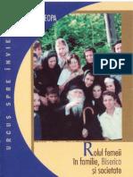 (Ilie Cleopa) Rolul Femeii in Familie, Biserica Si Societate