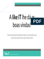 Like IT - Boas Vindas