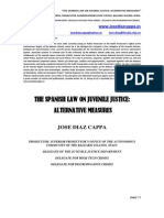 The Spanish Law on Juvenile Justice. Alternative Measures