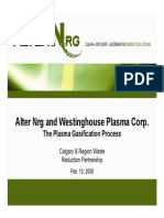 The Alter Nrg Plasma Gasification Process - Turner Valley Presentation.ppt
