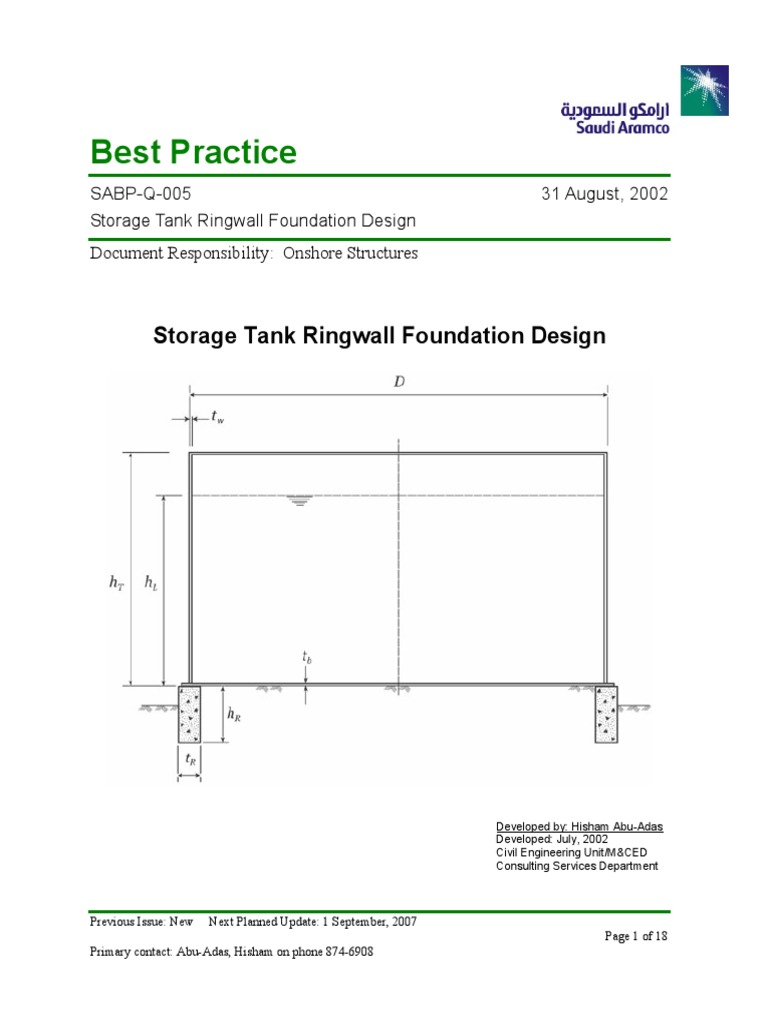 ring wall foundation pdf | Geotechnical Engineering | Civil