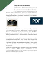 Acelerômetros e Arduino ADXL345