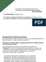 Composicion Aplicada a La Direccion de Arte
