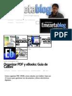 Organizar PDF y eBooks_ Guía de Calibre _ Emezeta