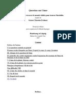 Question sur l'âme-Français-Gustav Theodor Fechner..odt