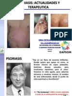 Tratameinto Actual de La Psoriasis - Manta - Dia Mundial - Dra Cecilia Cañarte