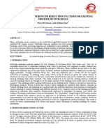 Evaluation of Strength Reduction Factor for Existing