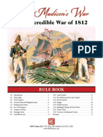 Mr Madison's War Rulebook
