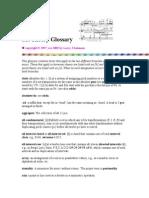 Set Theory Glossary