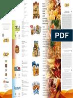 gdp brochure 4 lingue