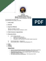 Lansing City Council Agenda, 10/28/13
