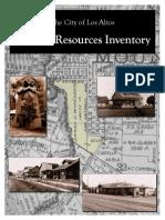 Los Altos Historical Commission