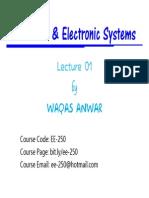 Lecture # 1 [Slides]