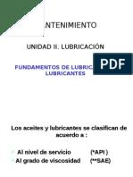 Lubricantes, Clasificacion API-SAE