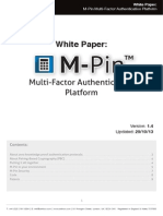 M-Pin Strong Authentication Platform