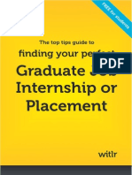 Find your perfect Graduate Job, Internship or Placement