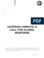 Association of Space Explorers Report to UN on asteroids