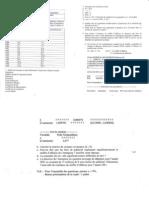 statistiques appliquées - contrôle continu 2000-2001