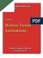 Learning Adobe Flash CS4 - Motion Tweens