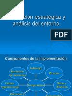 planeación estratégica y análisis del entorno