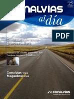 Revista Conalvias al dia N° 25 de 2012