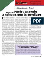 Le Pen – Dieudonné – Soral Extrême-droite