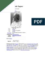 Rabindranath Tagore