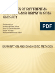 BIOPSY in oral surgery