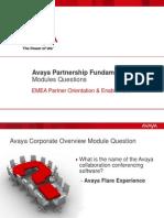0_APF Modlules Questions Jan 2013