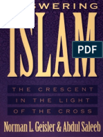 Answering Islam_ The Crescent in Light of the Cross - Norman L. Geisler